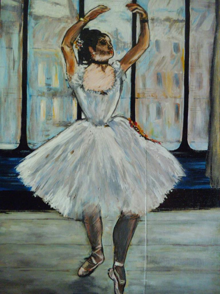 Dancer at the photographer