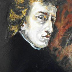 Portrait of F. Chopin